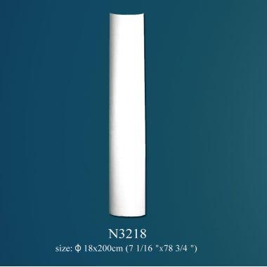 Колонна из полиуретана гладкая N3218 (d 18 x h 200 см)