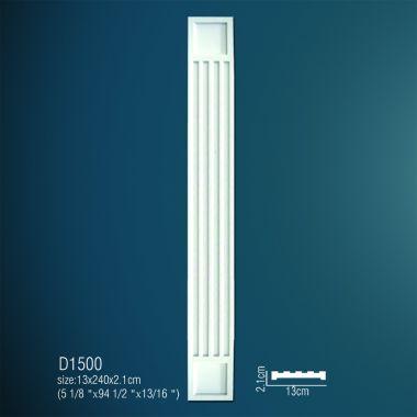 Декоративная пилястра D1500 240х13х2,1см