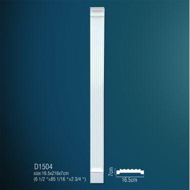 Декоративная пилястра D1504 216х16,5х7см