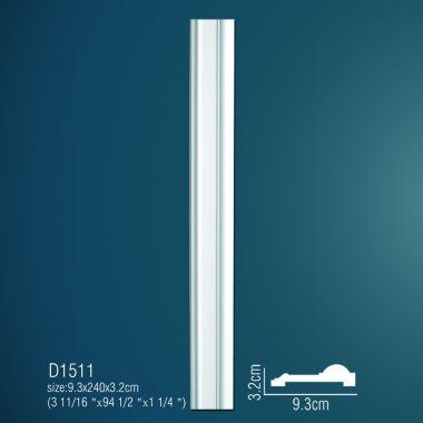 Декоративная пилястра D1511 240х9,3х3,2см