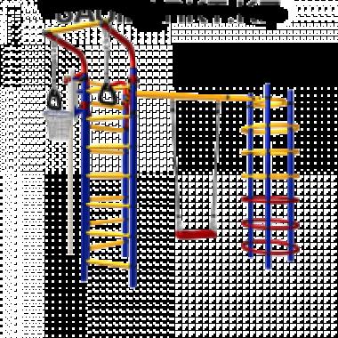 Детская площадка Космодром 15 (1.18 x 2.53 x h 2.16м) СК-3.3.15.22