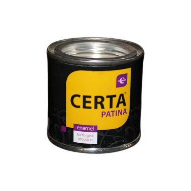 Эмаль Церта-Патина серебро, 0,1 кг