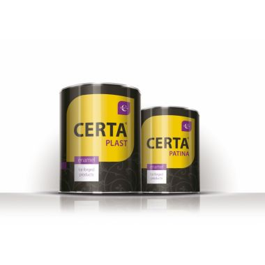 Эмаль Церта-пласт 0,8 кг
