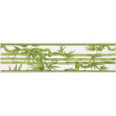 Фриз Ретро бамбук салатный 25х6,5
