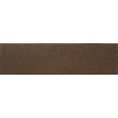 Керамин Амстердам 4 коричневый 24,5x6,5