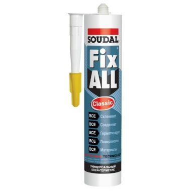 Клей-герметик Fix ALL белый 290мл
