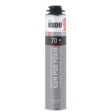 Пена полиуретановая монтажная KUDO PROFF 70+