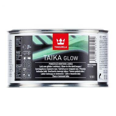 TAIKA GLOW лак светящийся в темноте водоразбавляемый матовый 0.33л