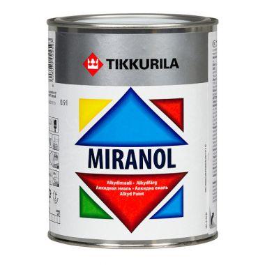 MIRANOL тиксотропная алкидная эмаль с незначительным запахом 0.9л