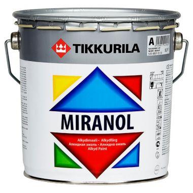 MIRANOL тиксотропная алкидная эмаль с незначительным запахом 2,7л