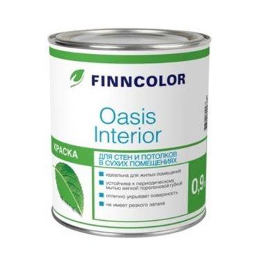Водоэмульсия OASIS INTERIOR A краска для стен и потолков 0,9 л