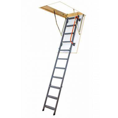 Лестница-люк, чердачная, металлическая Fakro LMK120x60 h=180