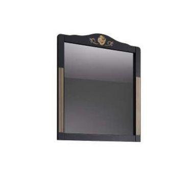 Зеркало Рояль В 85 Черный матовый с патиной