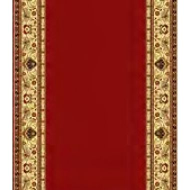 Кремлёвская дорожка BCF  GOLD  046/22  Красная  ширина 1,2
