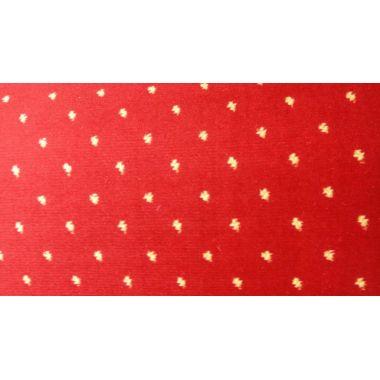 Ковролин  Berber - Luiza Grafica  4375 8 20733  Бордовый с точками