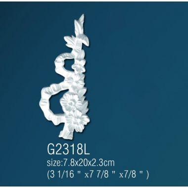 Декоративный орнамент G2318L (7,8 х 20 х 2,3см)