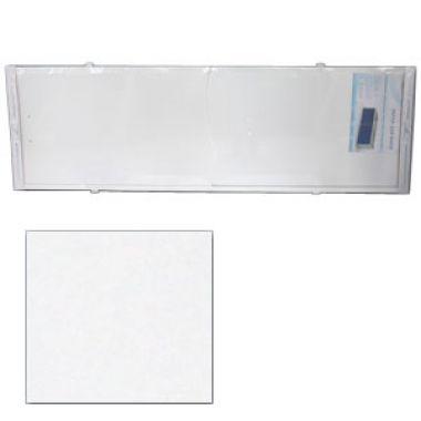 Экран под ванну 1,5м ОПТИМА наборный белый