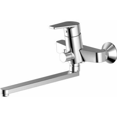 Смеситель для ванны с длинным изливом F65299С-1L LINE