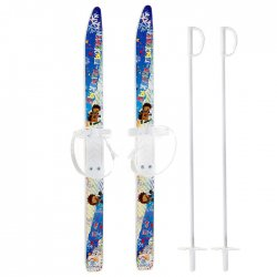 Лыжи детские Лыжики пыжики с палками 75/75 см 1032036