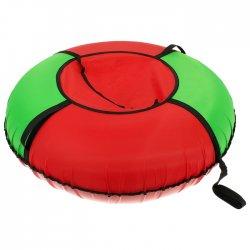 Тюбинг - ватрушка Вихрь Эконом диаметр 120 см цвета микс 3908922
