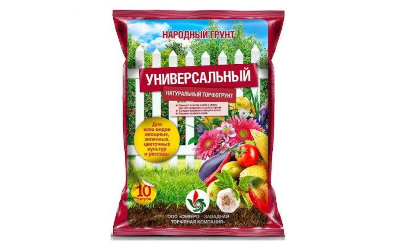 """Грунт Универсальный, 5л, """"Народный грунт"""", СЗТК (2,5 кг)"""
