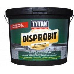 TYTAN DISPROBIT мастика дисперс. битумно-каучук.  д/ремонта крыш и гидроизоляции (20 кг)