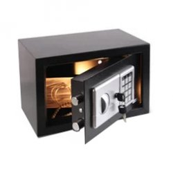 Ящики металлический для хранения документов с электрическим замком 20 ЕК, 310*200*200мм