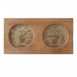 Термогигрометр для сауны биметаллический ТГС-7 0+150С, 0-100%