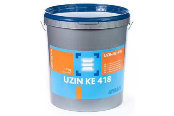 Клей для линолеума и некоторых текстильных покрытий UZIN- КЕ 418  18 кг