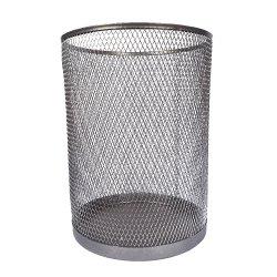 Корзина Ажур (серебристый металик)