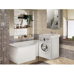 Ванна Вена  ВВ-1600 Белая (Экран для ванны Вена  К 1600 белый (1) Подставка для ванны Вена ПВВ 1600) Вена 1600
