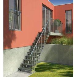 Наружняя лестница GARDENTOP 100см высота 280см