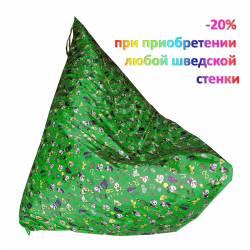 МФ-МК-01.93.07 Романа Кресло-пирамида (зелёный)