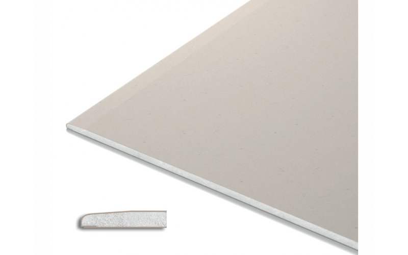 Гипсокартон Knauf 9,5мм (потолочный гипсокартон) ГКЛ 2,5*1,2м