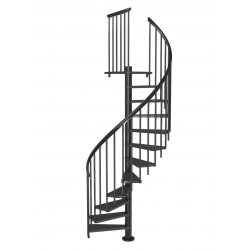 Лестница винтовая CALGARY 140 Антрацит
