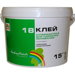 """Клей акриловый """"Супермастика"""" 1,5 кг. (Радуга-18)"""