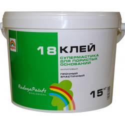 """Клей акриловый """"Супермастика"""" 14 кг. (Радуга-18)"""