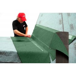 Ендовый ковер IKO Зеленый 1х7 м IKO