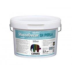 Материал лакокрасочный декоративный Capadecor Stucco Di Perla Silber 2.5л
