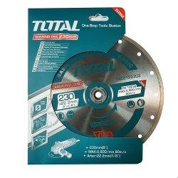 Алмазный диск 230мм(9)х5х22мм ТАС2122303