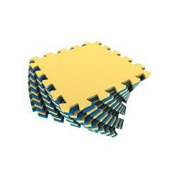 Коврик-пазл (жёлто-синий)