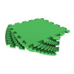 Мягкий пол универсальный 33*33 (зелёный)