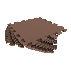 Мягкий пол универсальный 33*33 (коричневый)