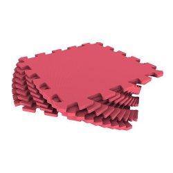 Коврик-пазл 33*33 (красный)