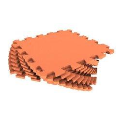Мягкий пол универсальный 33*33 (оранжевый)