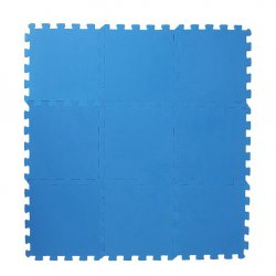 Коврик-пазл 33*33 (синий)