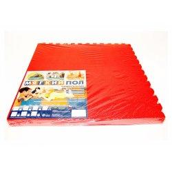 Коврик-пазл 500*500*14 (1788 красный)