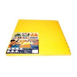 Коврик-пазл 500*500*14 (120 жёлтый)