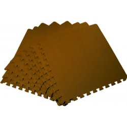Коврик-пазл 500*500*14 (4526 коричневый)