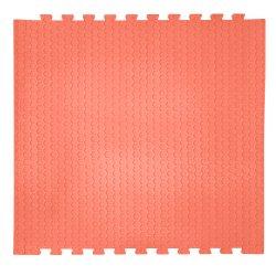 Коврик-пазл цвет красный 14 мм 30 шор